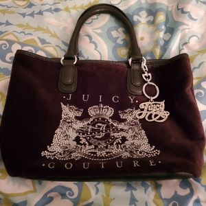 New Juicy Couture Rhinestone Purse